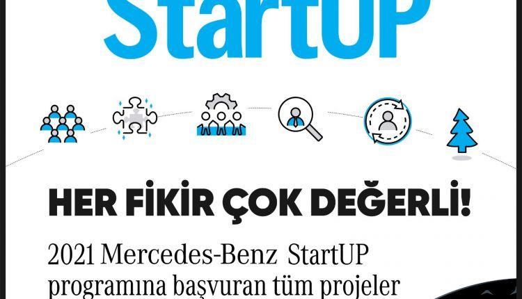 Mercedes-Benz StartUp 2021 Başvuruları Tamamlandı