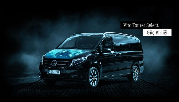 Yeni Mercedes-Benz Vito Tourer 237 HP