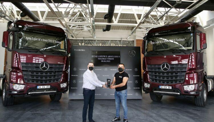 Aytaş Lojistik, 2 adet Mercedes-Benz Arocs 3353 S siparişini teslim aldı (2)