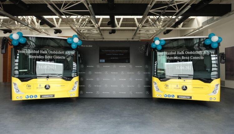 Yeni İstanbul Halk Otobüsleri A.Ş.'ye 10 adet Mercedes-Benz Conecto Solo teslimatı gerçekleştirildi_01