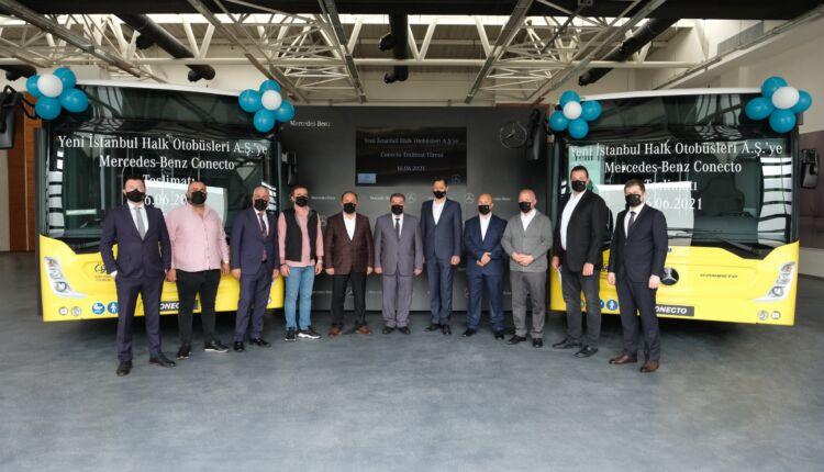 Yeni İstanbul Halk Otobüsleri A.Ş.'ye 10 adet Mercedes-Benz Conecto Solo teslimatı gerçekleştirildi_03